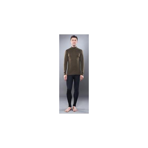 Рубашка с длинным рукавомом GUAHOO Outdoor Mid-Weight 350-S/BK