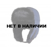 Шапка-ушанка Чайка «Егерь» серо-голубой