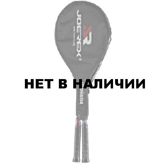 Ракетка для бадминтона Joerex JBD6004 (сталь) (2 ракетки в чехле)