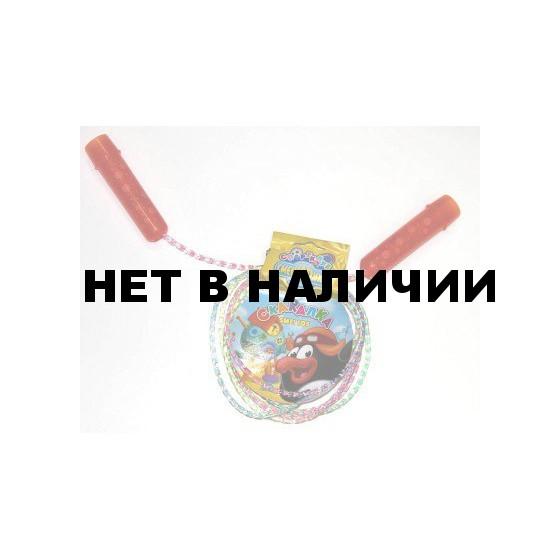 Скакалка Смешарики со шнуром-радугой Пин SMFI 105
