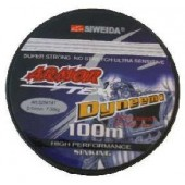 Леска плетеная Siweida Armor 0,18 100м (9кг, серая)