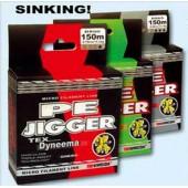 Рыболовная леска плетеная PE Jigger 100м 0,12 (зеленая)
