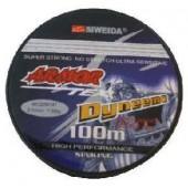 Леска плетеная Siweida Armor 0,12 100м (6,4кг, серая)