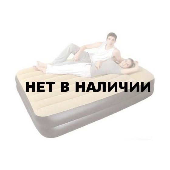 Надувная кровать RELAX HIGH RAISED AIR BED QUEEN JL027229NG со встр. эл. Насосом 203x161x51