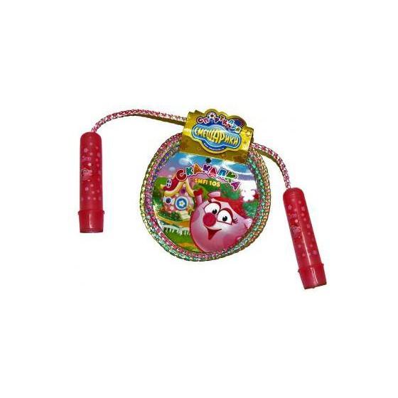 Скакалка Смешарики со шнуром-радугой Нюша SMFI 105
