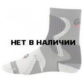Термоноски GUAHOO Sport Mid-Weight 130-CW/GY (серый/красный)