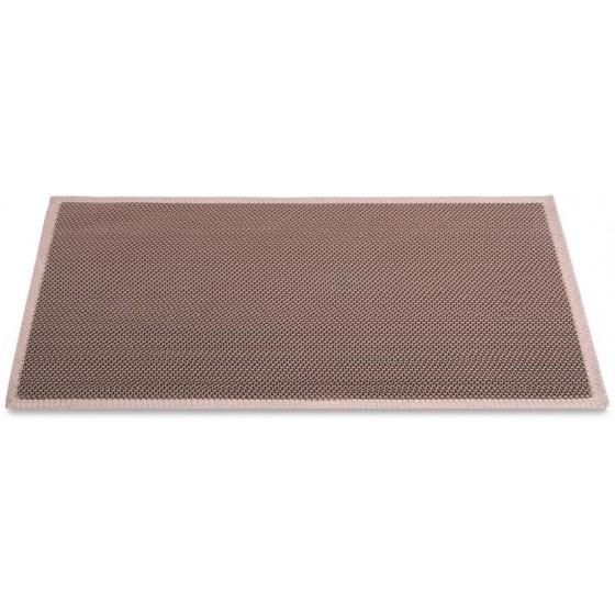 Коврик Helex S&Z пластиковый 60х90 см.,коричневый, D022 (SZ6090)