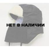 Шапка-ушанка Чайка «Полюс» черный