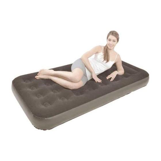 Надувная кровать Relax Flocked air bed Twin JL027273NG
