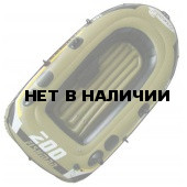 Лодка надувная Fishman 200 SET (весла+насос) JL007207-1N