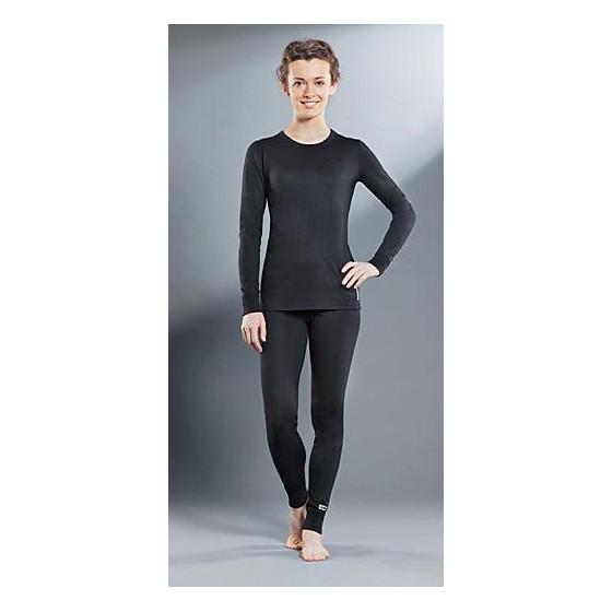 Комплект женского термобелья Guahoo: рубашка + лосины (21-0401 S-BK / 21-0401 P-BK)