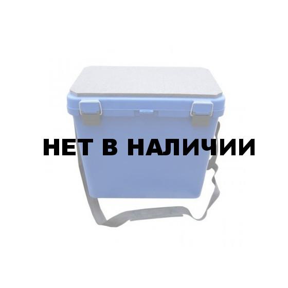 Ящик для зимней рыбалки пластик односекционный Тонар Helios