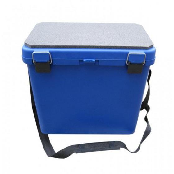 Ящик зимний рыболовный пластик односекционный Тонар Helios