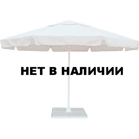 Зонт с воланом Митек 4,0М восьмигранный, стальной каркас, с подставкой