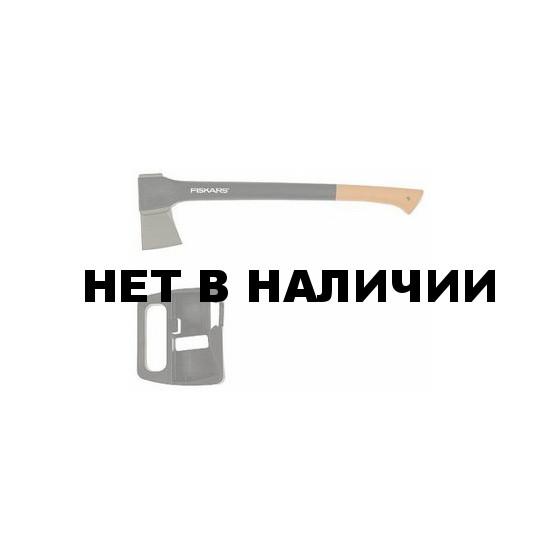 Топор-колун Fiskars 1400 + точилка для топоров (122181)