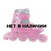 Роликовые коньки JOEREX JX3 розовые