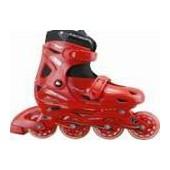 Роликовые коньки JOEREX JX3 красные