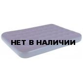 Надувная кровать Relax Flocked air bed DOUBLE кровать без встр. Насоса 191x137x22 синий JL020256N