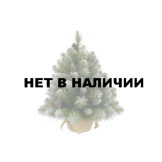 Елка Триумф Императрица с шишками в мешочке заснеженная 73810 (90 см)