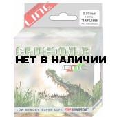 Леска SWD Crocodile 100м 0,45 (16,20кг) ваккум/уп прозрачная