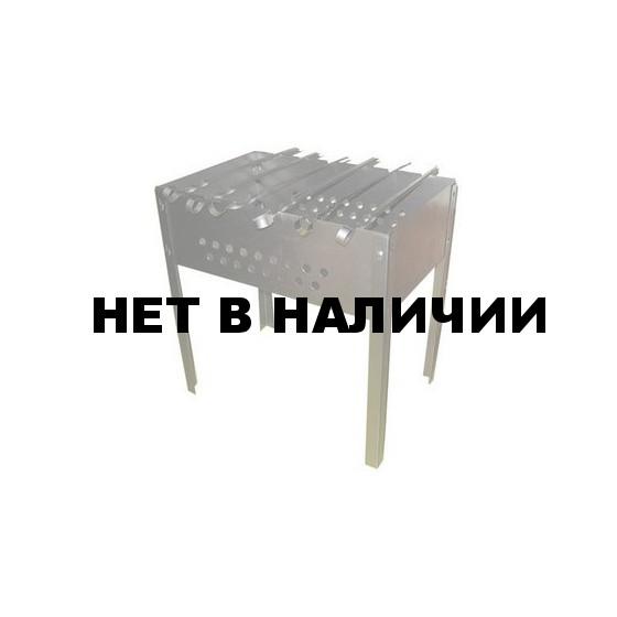 Мангал разборный + 6 шампуров Тверь(М1005)