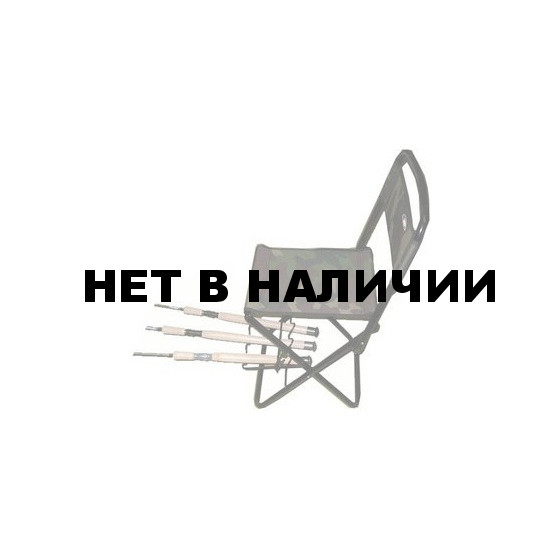 Стульчик рыболова Siweida 8715021 со спинкой и держателем удилища
