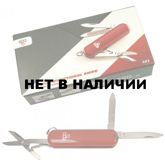 Нож складной Ego tools A03 брелок