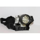 Фонарь налобный светодиодный DL-050 (ФН12с) 12 LED х 0,5 Вт