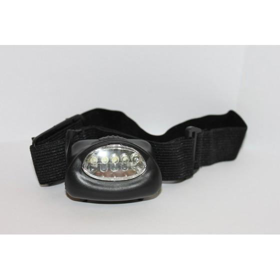 Фонарь налобный светодиодный малый 503813 (ФНМ5д) 5 LED