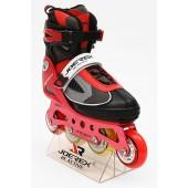 Роликовые коньки JOEREX RO0715 (красный)