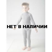 Комплект детский IC Kids Base футболка с длинным рукавом. и кругл. воротом, штанишки, цвет серый ICKU 0005