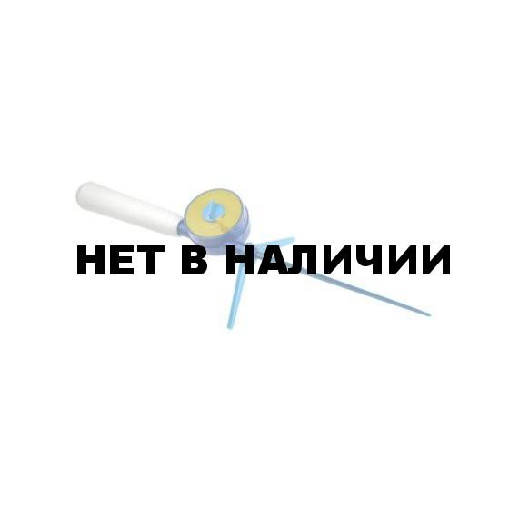 Удочка зимняя Зорька (два барабана, пенопласт.ручка)
