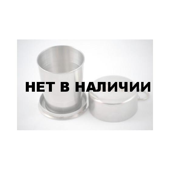 Стакан походный складной ср. СЛЕДОПЫТ 150 мл.