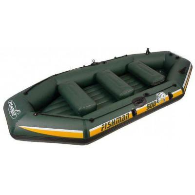 Лодка надувная Fishman II 500 BOAT (весла+насос) JL007212-1N