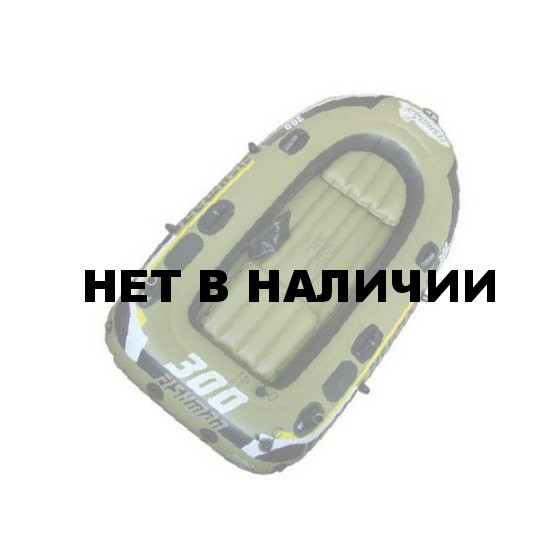 Лодка надувная Fishman 300 SET (весла+насос) JL007208-1N