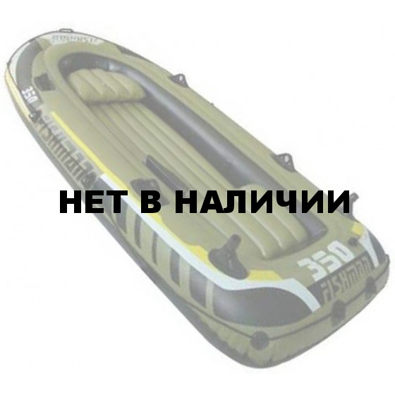 Лодка надувная Fishman 350 SET (весла+насос) JL007209-1N