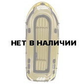 Лодка надувная Fishman 400 SET (весла+насос) JL007210-1N