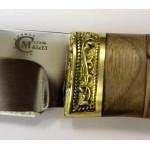 Нож Ворсма туристический Путник, сталь 65х13, дерево-орех (кузница Семина)
