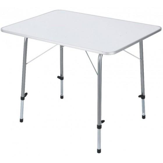 Складной стол TREK PLANET Picnic 120 с телескопическими ножками White (70662)