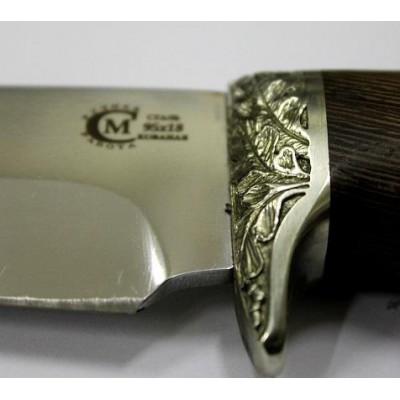 Нож Ворсма туристический Скиф, сталь 95х18, дерево-венге (кузница Семина)