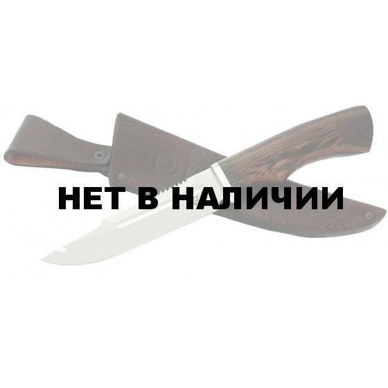 Нож туристический Щука, сталь 95х18, дерево-венге