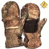 Перчатки-варежки Элит 3 в 1