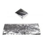 Теплосберегающее экстренное покрывало AceCamp Emergency Silver 3805