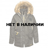 Куртка N-3B Inclement Parka Alpha Industries rep. grey
