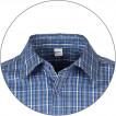 Рубашка мужская Sunburn клетка синяя