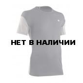 Футболка мужская HRT MOTION MAN TEE V2 СЕРЫЙ СВТЛ/СЕРЫЙ ТМН L L
