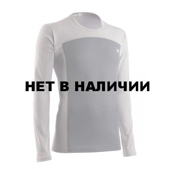 Футболка мужская HRT MOTION U SLEEVE V2 СЕРЫЙ СВТЛ/СЕРЫЙ ТМН L L