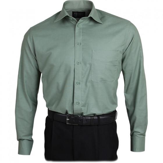 Рубашка Охранник Премиум, длинный рукав, олива
