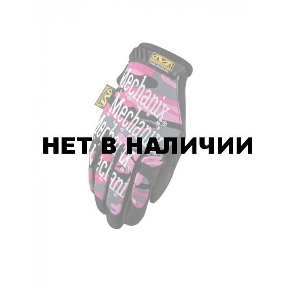 Перчатки женские Mechanix Womens Original Pink Camo M