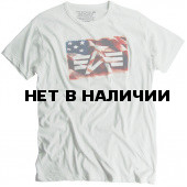 Футболка Flag Tee Starwhite Alpha Industries